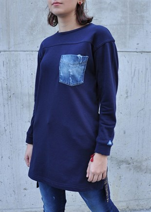 Parola Jeans Pocket Sweatshirt